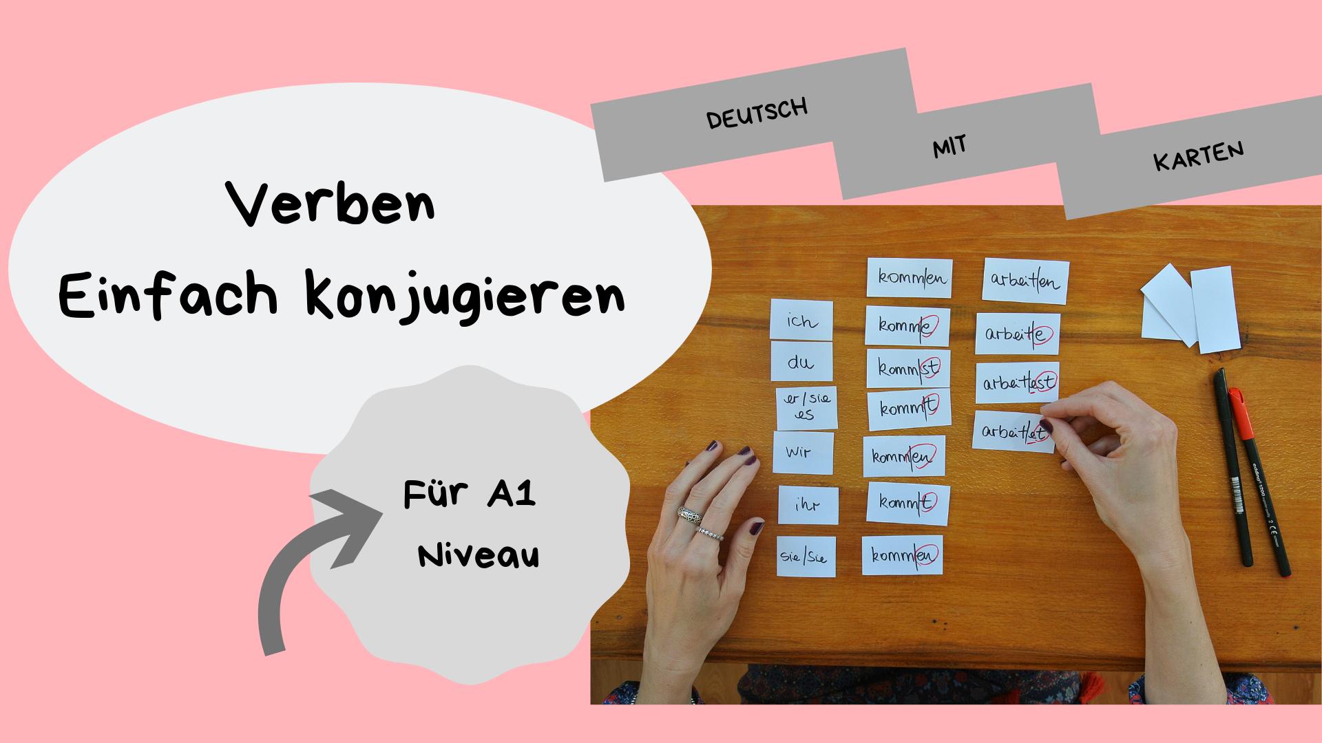 verben konjugieren deutsch